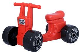 plasto 4輪スクーター(赤、青)