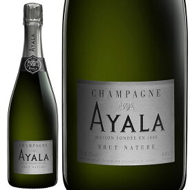 NV アヤラ ブリュット ナチュール 正規品 シャンパン 辛口 白 750ml ゼロ ドサージュ ナチューレ