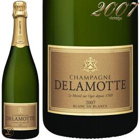 2007 ブリュット ブラン ド ブラン ミレジム ドゥラモット シャンパン 辛口 白 750ml Delamotte Brut Blanc de Blancs Millesime