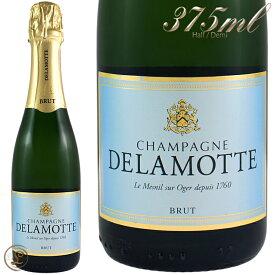 NV ブリュット ハーフ ドゥラモット 正規品 シャンパン 辛口 白 375ml Delamotte Brut Half/Demi
