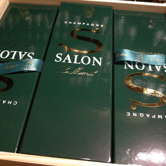 SALONサロン6本用木箱(※木箱のみ) ※ヴィンテージは選択できません