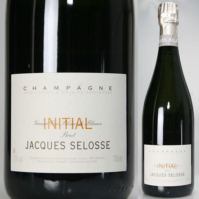 NV イニシャル ブリュット ブラン ド ブラン シャンパン ジャック セロス 辛口 白 750ml CHAMPAGNE JACQUES SELOSSE Blanc de Blancs BRUT INITIAL NV