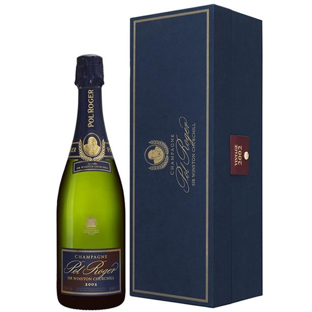 ポル・ロジェ キュヴェ・サー・ウィンストン・チャーチル[2002] [正規品] シャンパン/辛口/白 [750ml]