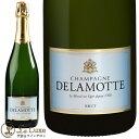ドゥラモット ブリュット[NV][正規品]泡/シャンパン/辛口/白[750ml]Champagne Delamotte Brut NV