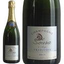 [送料無料]ド・スーザ ブリュット・トラディション[NV] [正規品] シャンパン/辛口/白 [750ml] CHAMPAGNE De Sousa Brut T... ランキングお取り寄せ