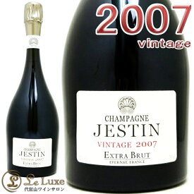 2007 シャンパーニュ ジェスタン エクストラ ブリュット プルミエ クリュ ヴィンテージ エルヴェ ジェスタン シャンパン 白 辛口 750ml Herve Jestin Champagne Jestin Extra Brut Premier Cru