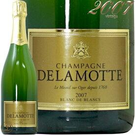 2007 ブリュット ブラン ド ブラン ミレジム ドゥラモット 正規品 シャンパン 辛口 白 750ml