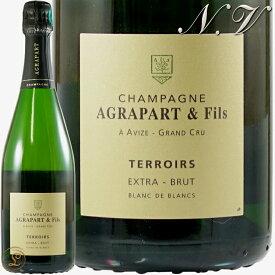 NV テロワール ブラン ド ブラン エクストラ ブリュット グラン クリュ アグラパール シャンパン 辛口 白 750ml Agrapart Blanc de Blanc Terroirs Extra Brut Grand Cru
