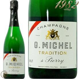 1982 ブリュット ミジレメ トラディション ギィ ミシェル シャンパン 辛口 白 750ml Guy Michel Brut Tradition