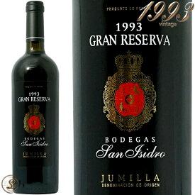 1993 グラン レセルバ ボデガス サン イシドロ 正規品 赤ワイン 辛口 750ml Bodegas San Isidro Gran Reserva