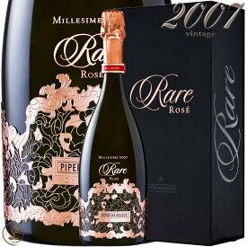 2007 レア ロゼ ヴィンテージ パイパー エドシック 正規品 ギフト ボックス 箱入り シャンパン 辛口 ROSE 750ml Piper Heidsieck Rare Vintage Rose Millesime Gift Box