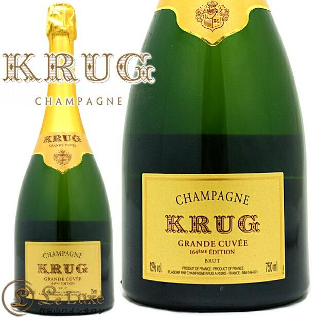クリュッググランド キュヴェ エディション 164 シャンパン 辛口 白 750mlKrug Grande Cuvee Edition 164