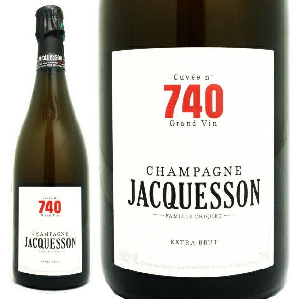 ジャクソン キュヴェ740 NV シャンパン 白 辛口 750ml Jacquesson Cuvee 740 NV