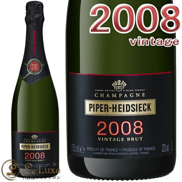 パイパー エドシックブリュット ヴィンテージ 2008 正規品シャンパン 辛口 白 750mlPiper Heidsieck Brut Vintage 2008