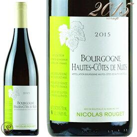 ブルゴーニュ オート コート ド ニュイ ブラン 2015 正規品ニコラ ルジェ 白ワイン 辛口 750mlNicolas RougetBourgogne Hautes Cotes de Nuits Blanc 2015