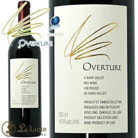 オーヴァーチュア NV オーパスワン セカンド赤ワイン 辛口 フルボディ 750mlOverture NVOpus One Second Label