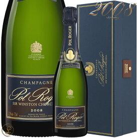 2008 キュヴェ サー ウィンストン チャーチル ポル ロジェ 正規品 箱入り シャンパン 辛口 白 750ml ギフトボックス Pol RogerCuvee Sir Winston Churchill Gift Box
