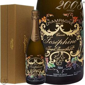 2008 キュヴェ ジョセフィーヌ ジョセフ ペリエ ギフト ボックス シャンパン 辛口 白 750ml Joseph Perrier Cuvee Josephine Gift Box