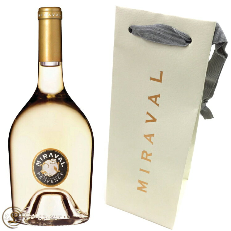 ミラヴァル ブラン ヴァロワ 2013 正規品 白 辛口 750ml Miraval Coteaux Varois (Blanc Varois)2013※ショップバッグの要・不要を【無料紙袋】のプルダウンにてご選択下さい。
