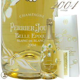 2004 ベル エポック ブラン ド ブラン ペリエ ジュエ 木箱 ギフト ボックス シャンパン 白 辛口 750ml Perrier Jouet Belle Epoque Blanc de Blancs Gift box