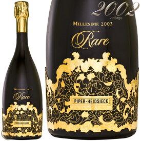 2002 パイパー エドシック レア ヴィンテージ 正規品 シャンパン 辛口 白 750ml Piper Heidsieck Rare Vintage