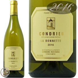 2016 コンドリュー ラ ボネット ドメーヌ ロスタン 正規品 白ワイン 辛口 750ml Domaine Rostaing Condrieu La Bonnette