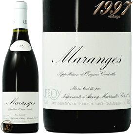 1997 マランジュ メゾン ルロワ 蔵出し 正規品 赤ワイン 辛口 750ml Maison Leroy Maranges