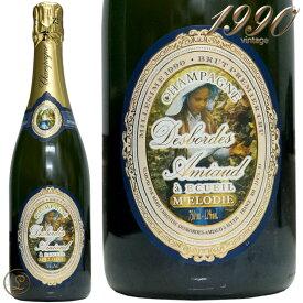 1990 ブリュット ミレジム プルミエ クリュ キュヴェ メロディ デボルド アミオー 正規品 シャンパン 白ワイン 泡 750ml Desbordes Amiaud Brut Millesime Premier Cru Cuvee m'Elodie