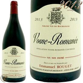 2013 ヴォーヌ ロマネ エマニュエル ルジェ 赤ワイン 辛口 750ml Vosne Romanee