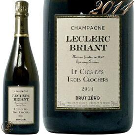 2014 ル クロ デ トロワ クロシェール ルクレール ブリアン 正規品 シャンパン 白 辛口 750ml Leclerc Briant Le Clos des Trois Clochers