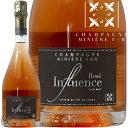NV アンフリュアンス ブリュット ロゼ シャンパーニュ ミニエール 正規品 シャンパン 辛口 白 750ml Miniere F&R Influence Brut Rose
