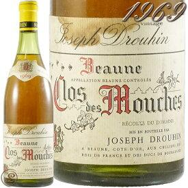 1969 ボーヌ クロ デ ムーシュ ブラン ジョセフ ドルーアン 白ワイン 辛口 750ml ※コンディションをご確認頂けるように複数本並べての画像を載せておりますが、1本の価格です。 Joseph Drouhin Beaune Clos des Mouches Blanc
