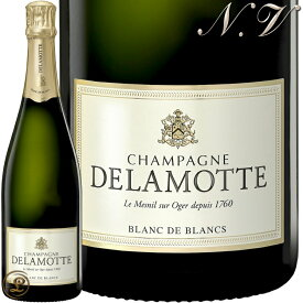 NV ブリュット ブランド ブラン ドゥラモット シャンパン 辛口 白 750ml Delamotte Brut Blanc de Blancs
