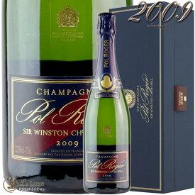 2009 キュヴェ サー ウィンストン チャーチル ポル ロジェ 正規品 箱入り シャンパン 辛口 白 750ml ギフトボックス Pol RogerCuvee Sir Winston Churchill Gift Box