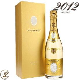2012 クリスタル ブリュット ヴィンテージ ルイ ロデレール ギフトボックス 正規品 シャンパン 白 辛口 750ml Louis Roederer Cristal Brut vintage Gift Box