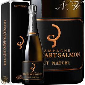 NV ブリュット ナチュール ビルカール サルモン ギフト ボックス 正規品 シャンパン 辛口 白 750ml Billecart Salmon Brut Nature Gift Box