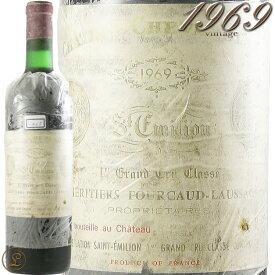 1969 シャトー シュヴァル ブラン 赤ワイン 辛口 750ml 古酒 Ch. Cheval Blanc