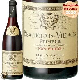 ◆予約受付中◆ 2020 ノン フィルター ルイ ジャド ボジョレー ヌーヴォー ヴィラージュ プリムール 正規品 赤ワイン 辛口 750ml ボジョレー2020 Louis Jadot Beaujolais Villages Primeur Non Filtre