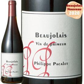 ◆予約受付中◆ 2020 ボジョレー ヴァン ド プリムール フィリップ パカレ 赤ワイン 辛口 正規品 750ml ボジョレー2020 ヌーボー ボジョレーヌーヴォー ボジョレーヌーボー Philippe Pacalet Beaujolais Vin de Primeur RED