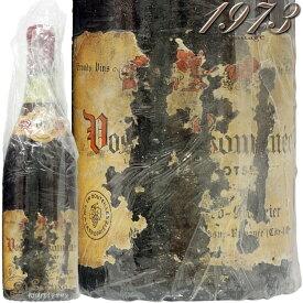 1973 ヴォーヌ ロマネ プルミエ クリュ レ スショ カティアール モリニエ 赤ワイン 辛口 750ml Cathiard Molinier Vosne Romanee 1er Cru Les Suchots