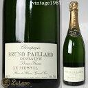 ブルーノ・パイヤール・ル・メニル・ブラン・ド・ブラン[1987] [正規品] シャンパン/辛口/白 [750ml]
