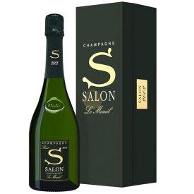 2002 サロン ブラン ド ブラン ル メニル ブリュット ギフトボックス 正規品 キュヴェS シャンパン 辛口 白 750ml Champagne SALON Cuvee S GIft Box