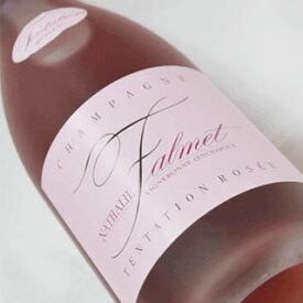 NV トンタション ロゼ ブリュット ナタリー ファルメ シャンパーニュ ROSE 辛口 750ml Champagne Nathalie Falmet Tentation Rosee Brut Rose