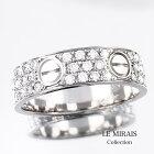 【仕上済】CARTIER カルティエ ラブリング 22号 WG 62 ダイヤ ダイヤモンド 指輪 リング【中古】【送料無料】