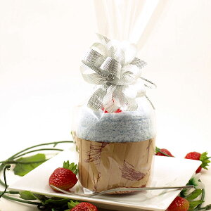 ミント カップケーキ??から、思わず笑顔のウサコソックス サイズ22〜24cm アクア ケーキ靴下ホワイトデーのプレゼント バレンタインデーのお返し 結婚披露宴、二次会、パーティー、発表