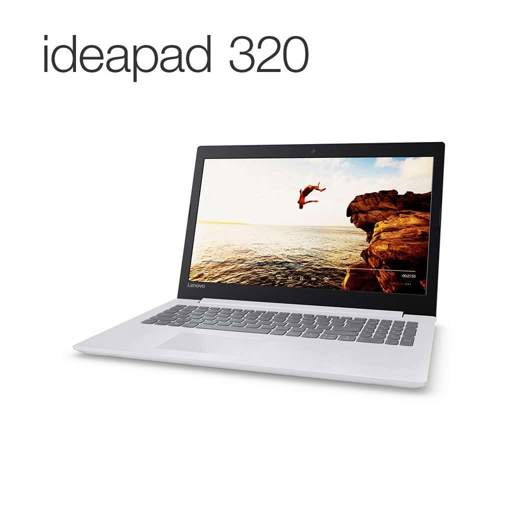 直販 ノートパソコン:Lenovo ideapad 320 AMD A12搭載(15.6型 FHD/8GBメモリー/1TB HDD/Windows10/Officeなし/ブリザードホワイト)【送料無料】