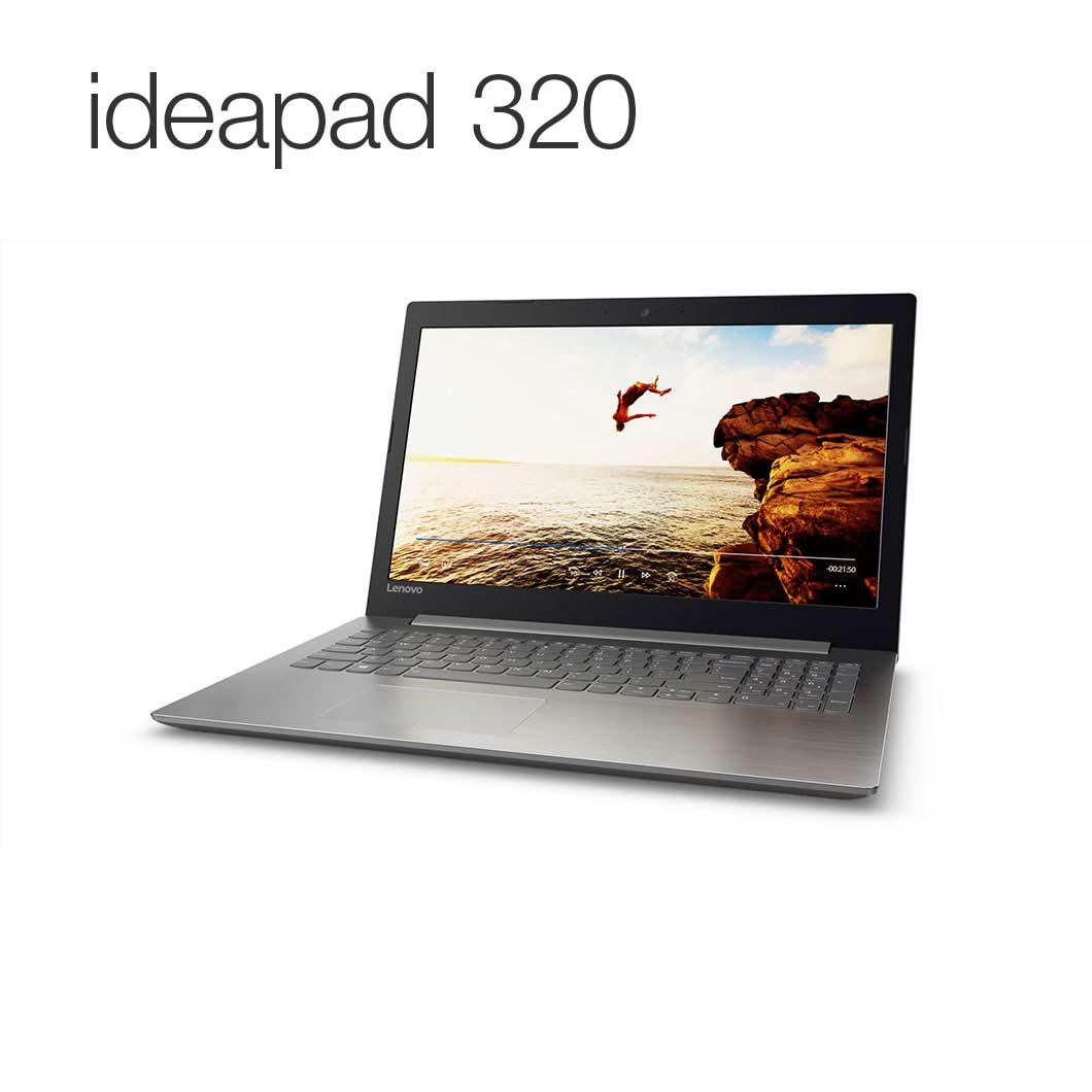 直販 ノートパソコン:Lenovo ideapad 320 Core i3搭載(15.6型 FHD/4GBメモリー/500GB HDD/Windows10/Officeなし/プラチナシルバー)【送料無料】
