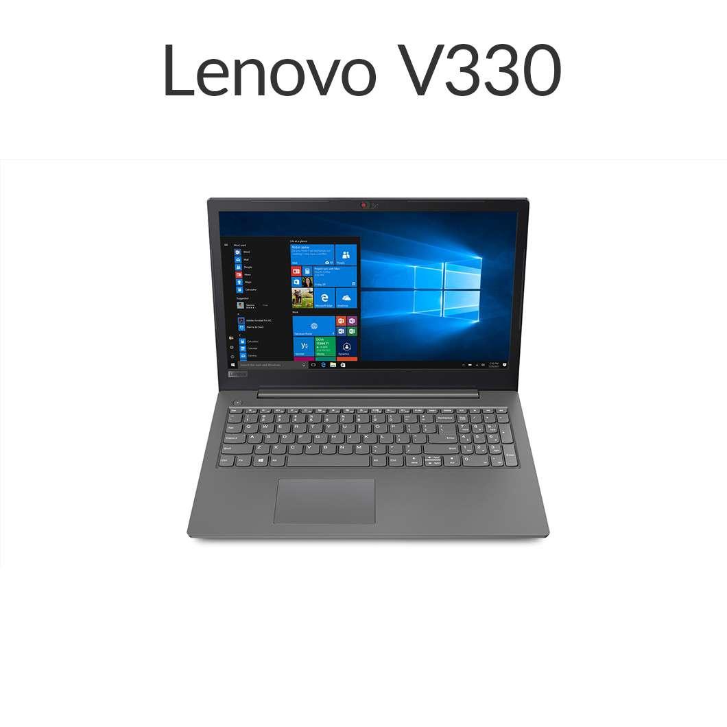 直販 ノートパソコン:Lenovo V330 Core i5-7200U搭載(15.6型 FHD/8GBメモリー/1TB HDD/Windows10/Officeなし/アイアングレー)【送料無料】