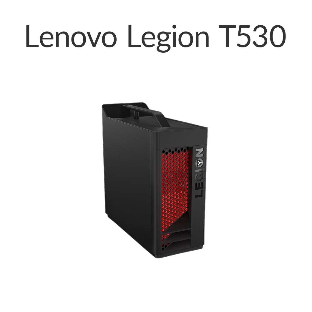 【4月26日01:59まで当店ポイント5倍!】直販 ゲーミングPC:Lenovo Legion T530 Core i5搭載(8GBメモリ/256GB SSD/モニタなし/Officeなし/Windows10/ブラック)【送料無料】