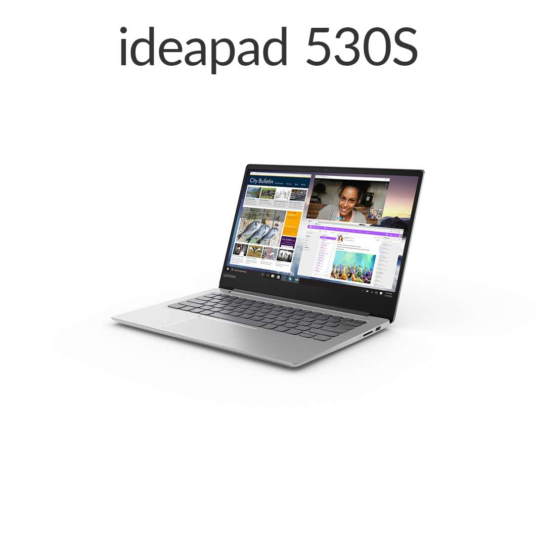 【スーパーSALE!12月11日01:59まで当店ポイント5倍】直販 ノートパソコン:Lenovo Ideapad 530S Core i5搭載(14.0型 FHD/8GBメモリー/256GB SSD/Windows10/Officeなし/ミネラルグレー)【送料無料】